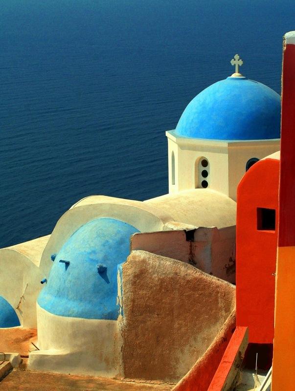 Церковь на острове Санторини
