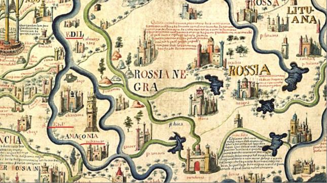 Карта Фра Мауро