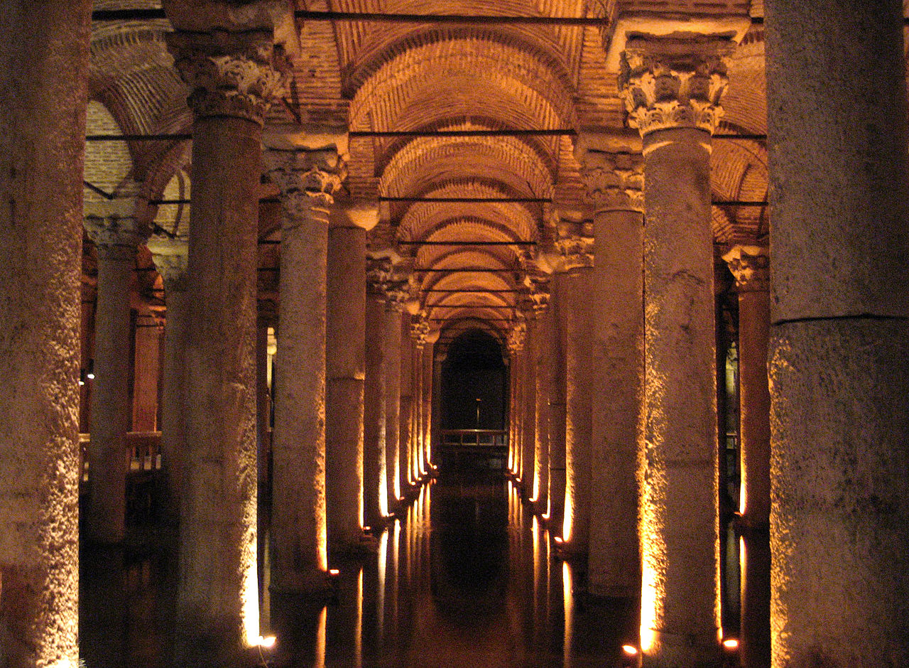 Цистерна Базилика(IV—VI века)