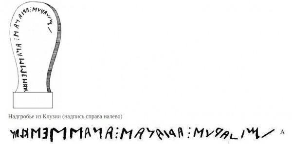 этрусская письменность