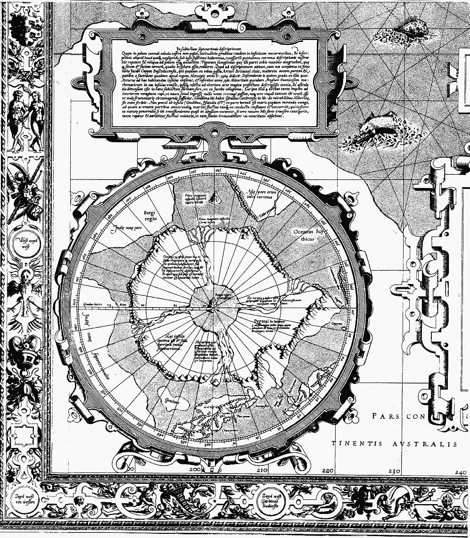 Карта Меркатора 1569