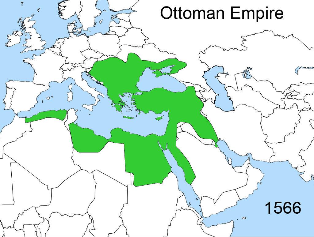 Территории которыми владел Сулейман Великолепный.