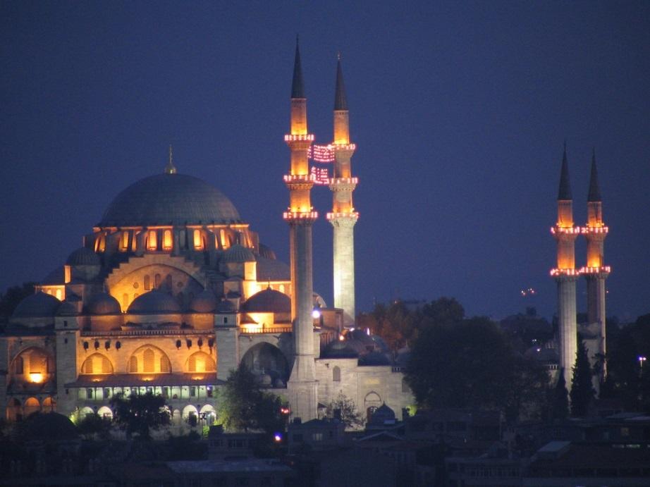 Мечеть Султана Сулеймана. Стамбул. Турция.