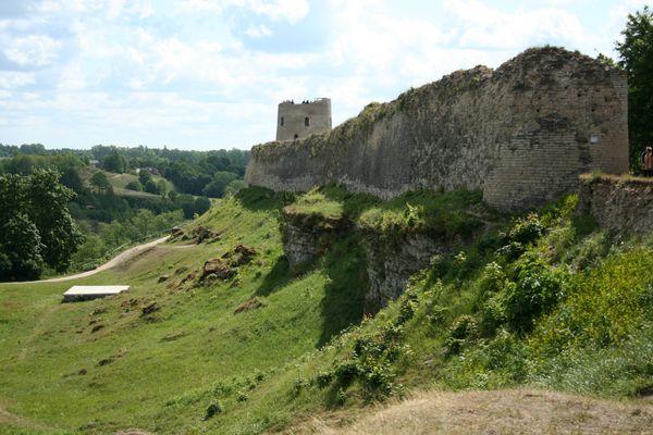 Восточная стена крепости