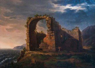 Жан-Кристоф Мивилль «Руины на берегу моря».