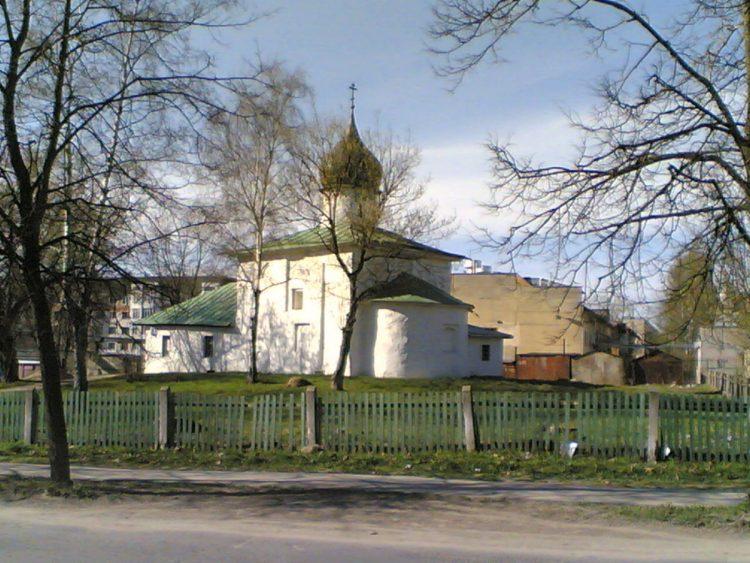 Церковь святого Николы Каменноградского. Псков. Завеличье.