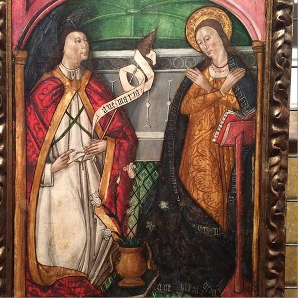 Благовещение деве Марии!