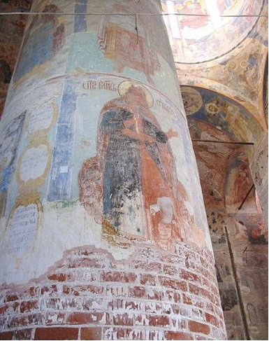 Древняя фреска.