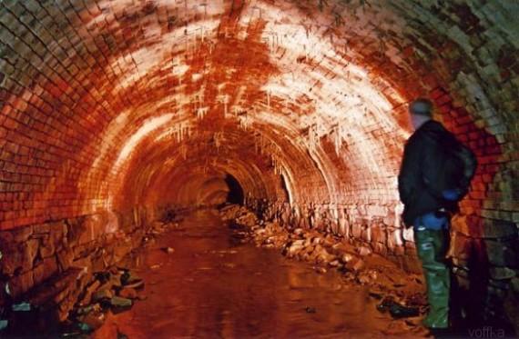 подземные катакомбы
