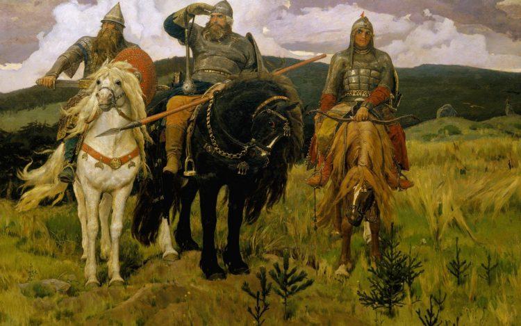 В.М. Васнецов. Три богатыря.