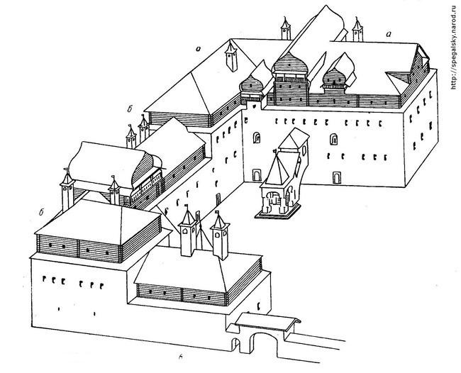 План замка купца Поганкина.