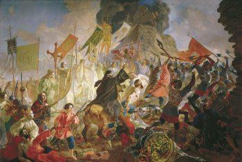 Карл Брюллов. Осада Пскова Баторием. 1843