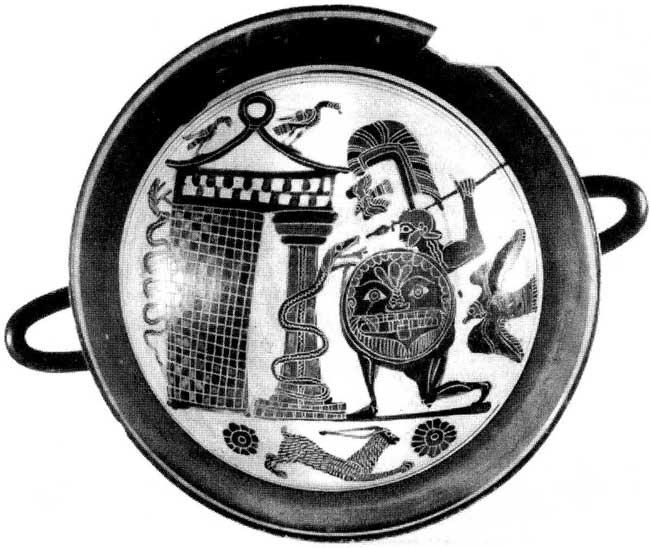 Античный шлем