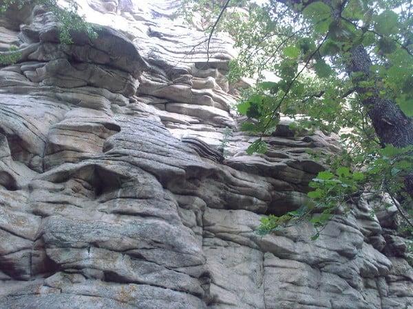 Скалы останцы