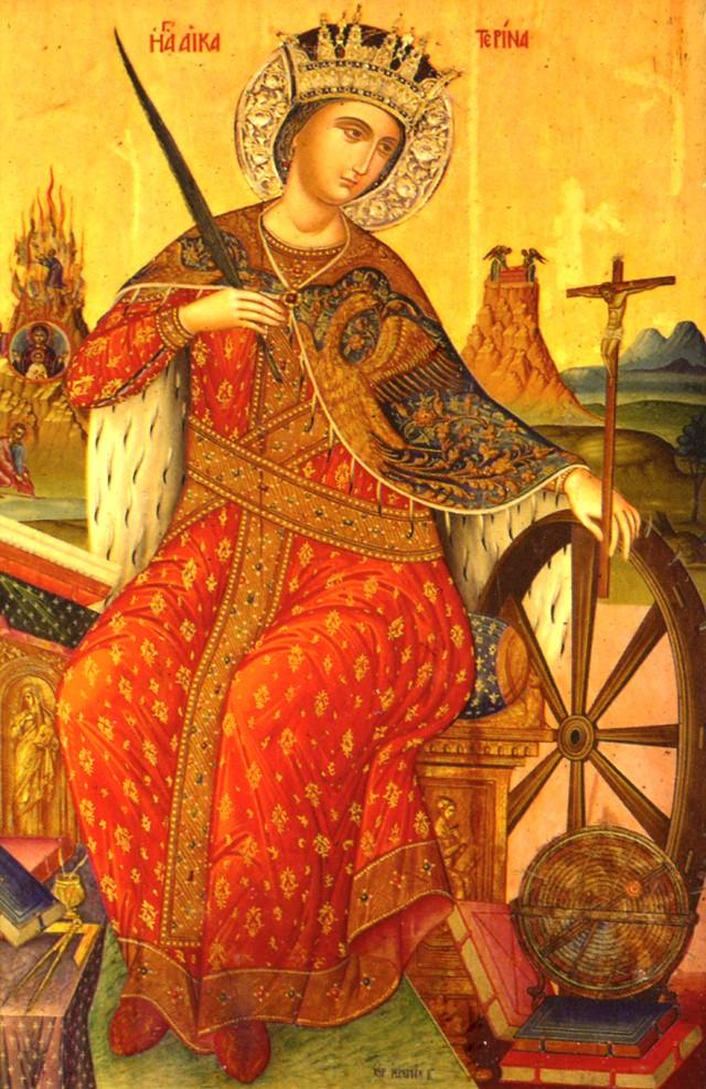 Икона св. Екатерины