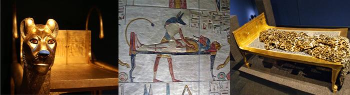 история кровати египет