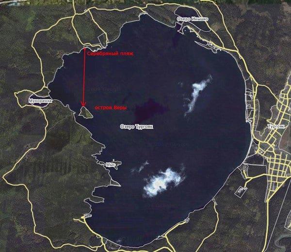 Озеро Тургояк Находится недалеко от города Миасс Челябинской области.