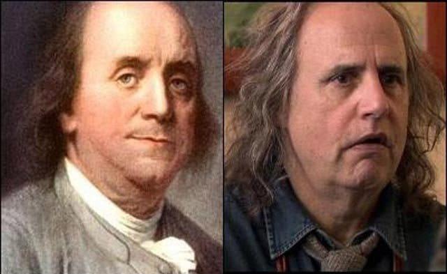 Джеффри Тэмбор и Бенджамин Франклин