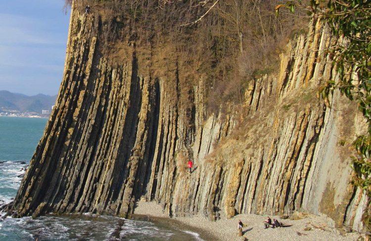 Скала Киселева это береговой флиш