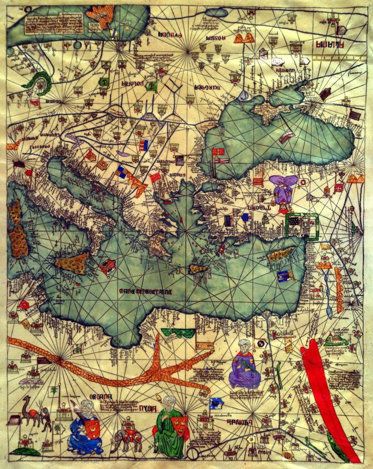 Каталонский атлас, 1375