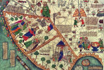 Фрагмент карты Авраама Крескеса
