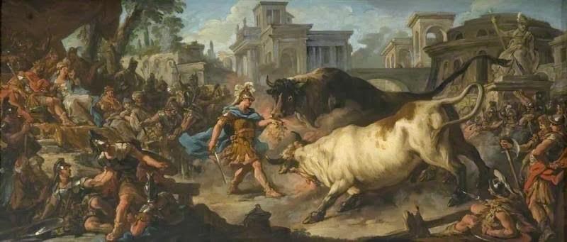 ясон и быки