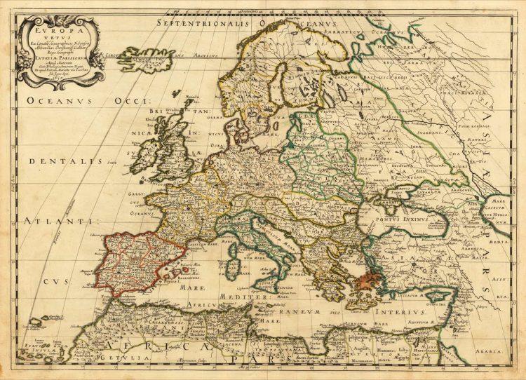 Europe 1650