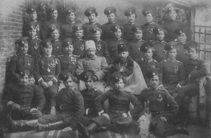 саратовская казачья команда