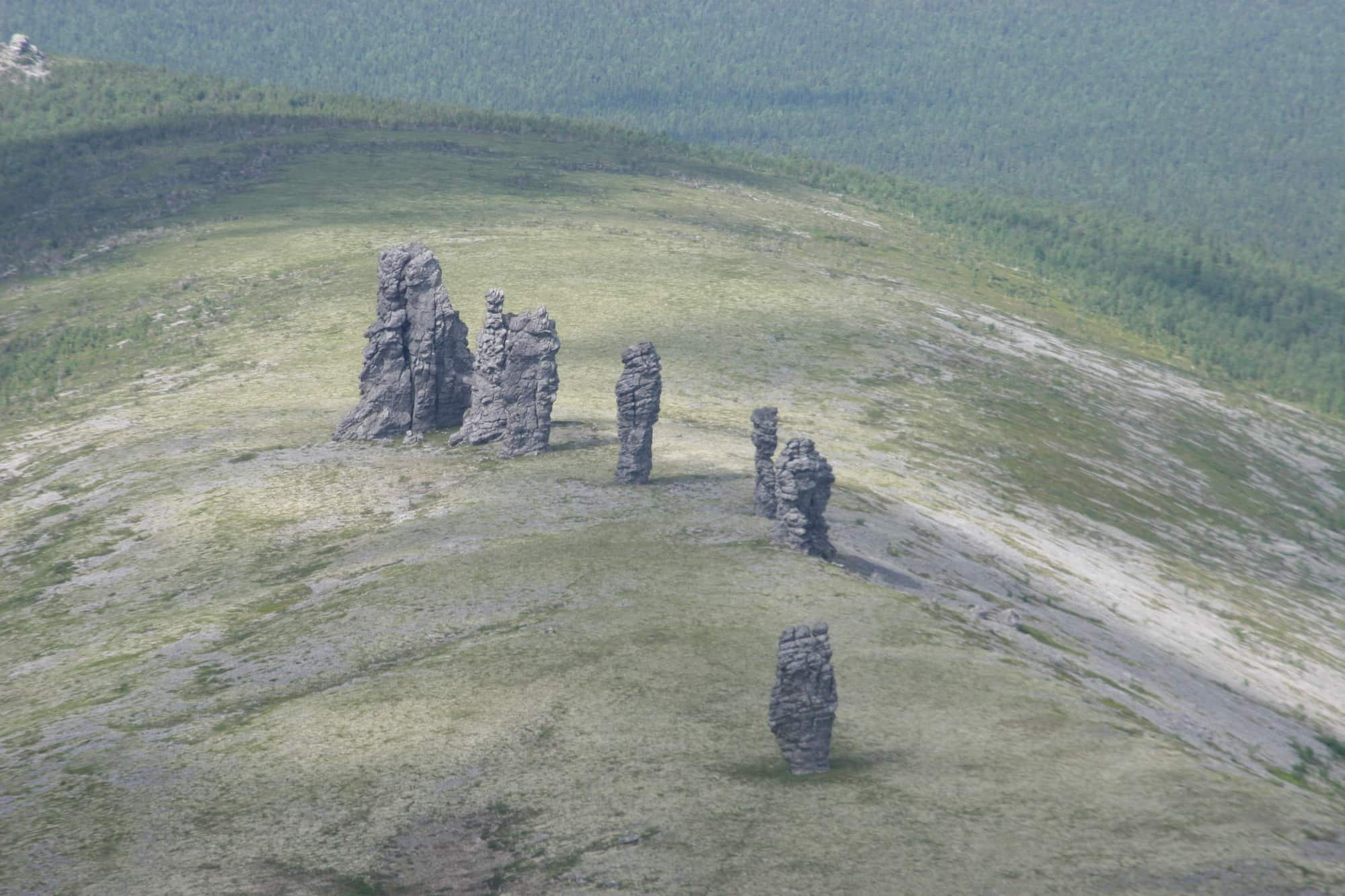 Maň-pupu-ňor (Sedm silných mužů), Koma, Pečoro-ilyčská rezervace
