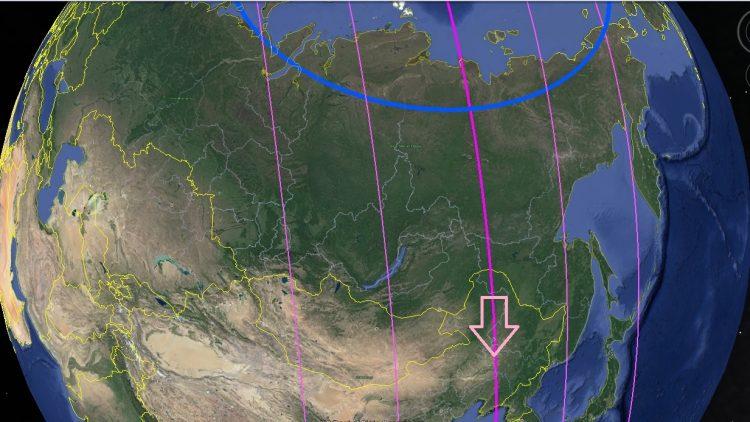 Сдвиг полюсов. Фронт потопной волны на Сибирь Карта