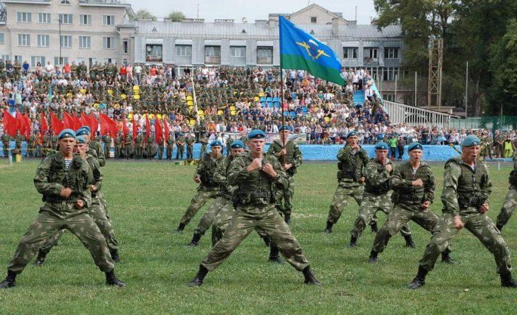 День ВДВ во Пскове.