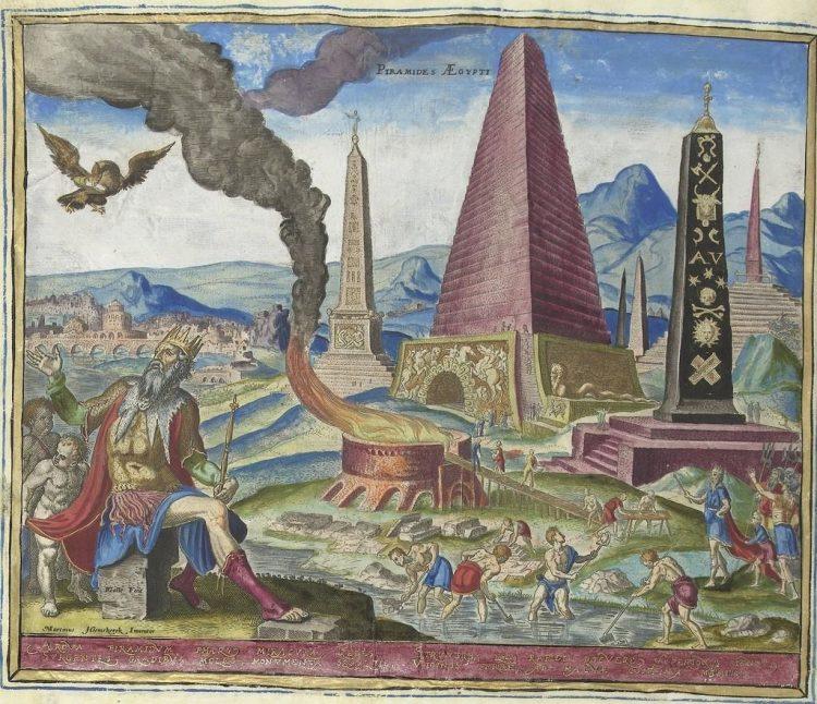 Гравюра. Филипп Галле 1572г.
