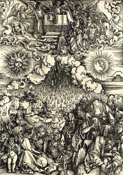 Апокалипсис. Альбрехт Дюрер. 1497г.