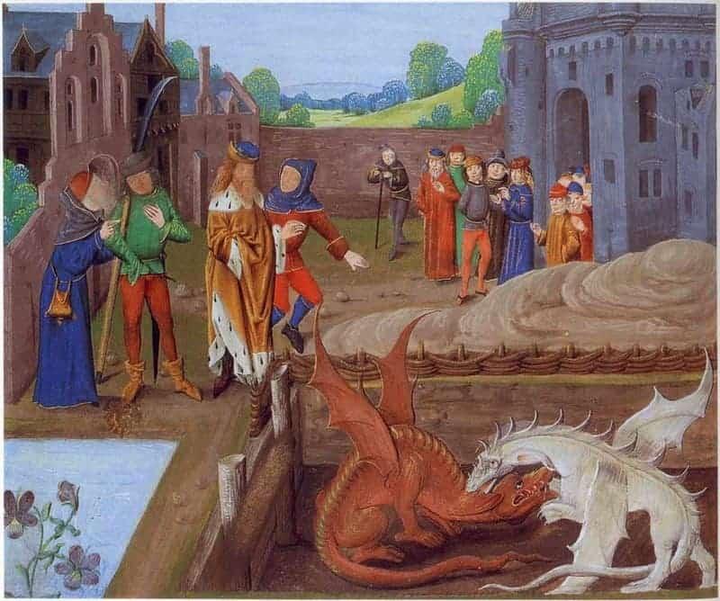 Англия драконы
