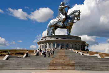 Památník Čingischána, Mongolsko