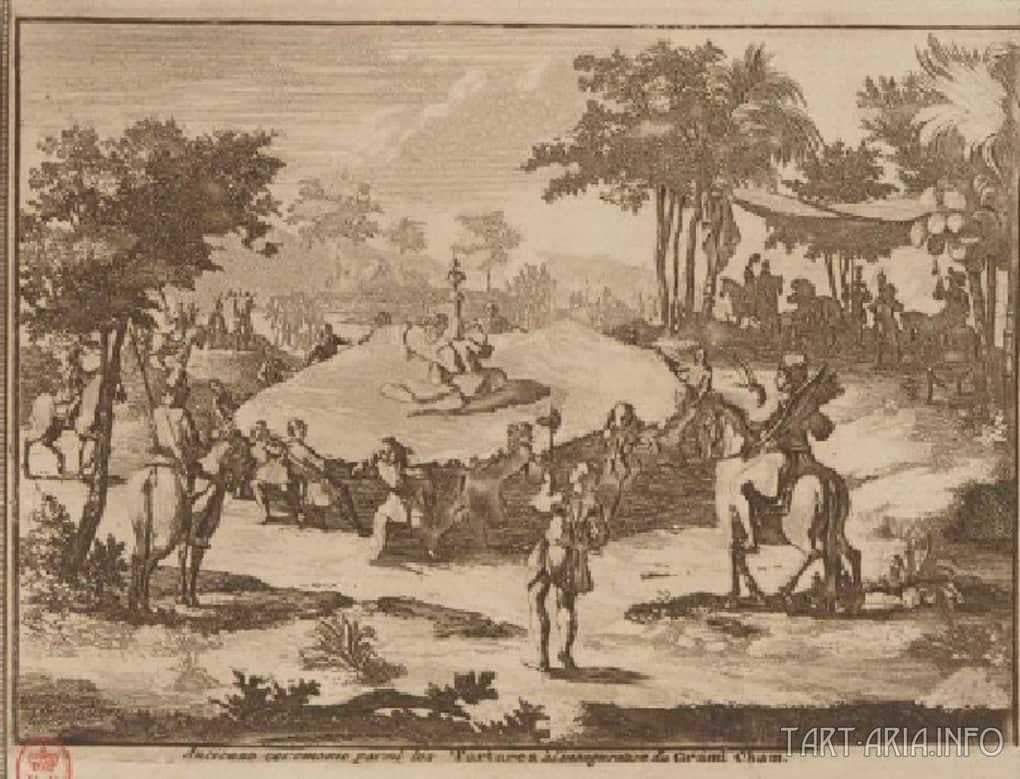 Праздник в тартарской деревне