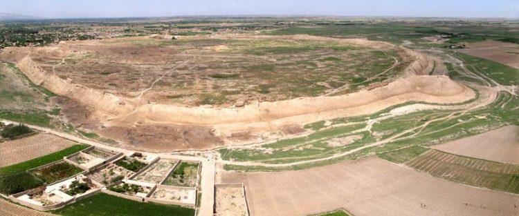 pozůstatky města Balkh