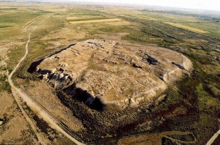 pozůstatky města Otrar