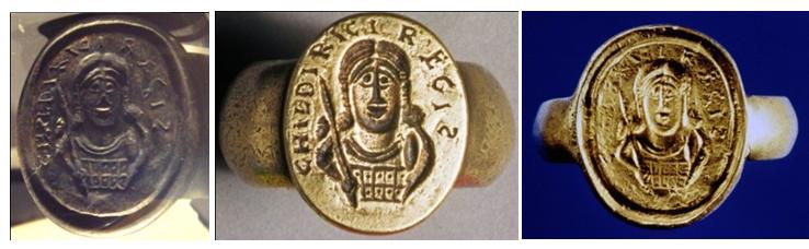 печати перстни хильдерика