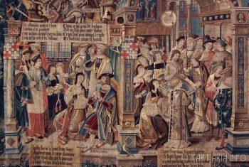 Крещение Хлодвига