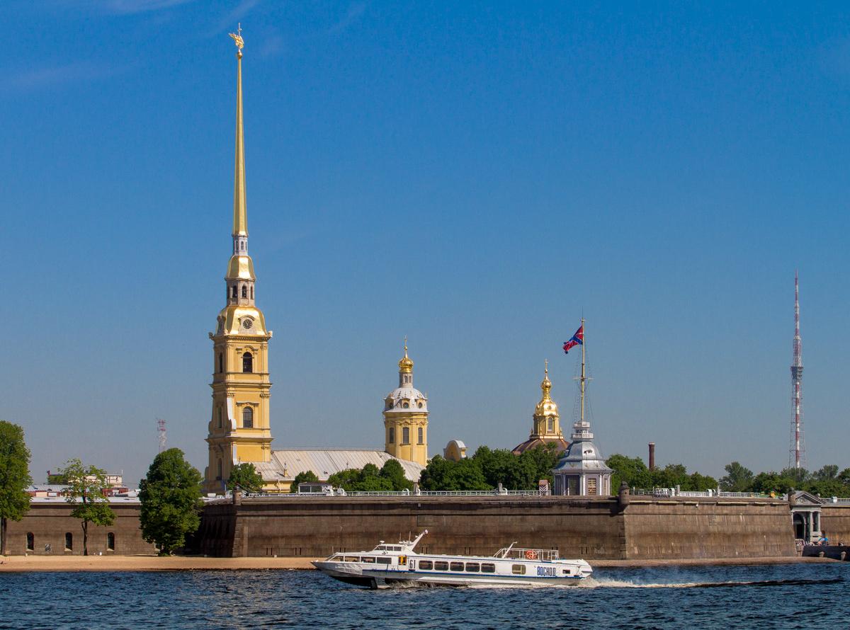 Загадки расположения С-Петербурга
