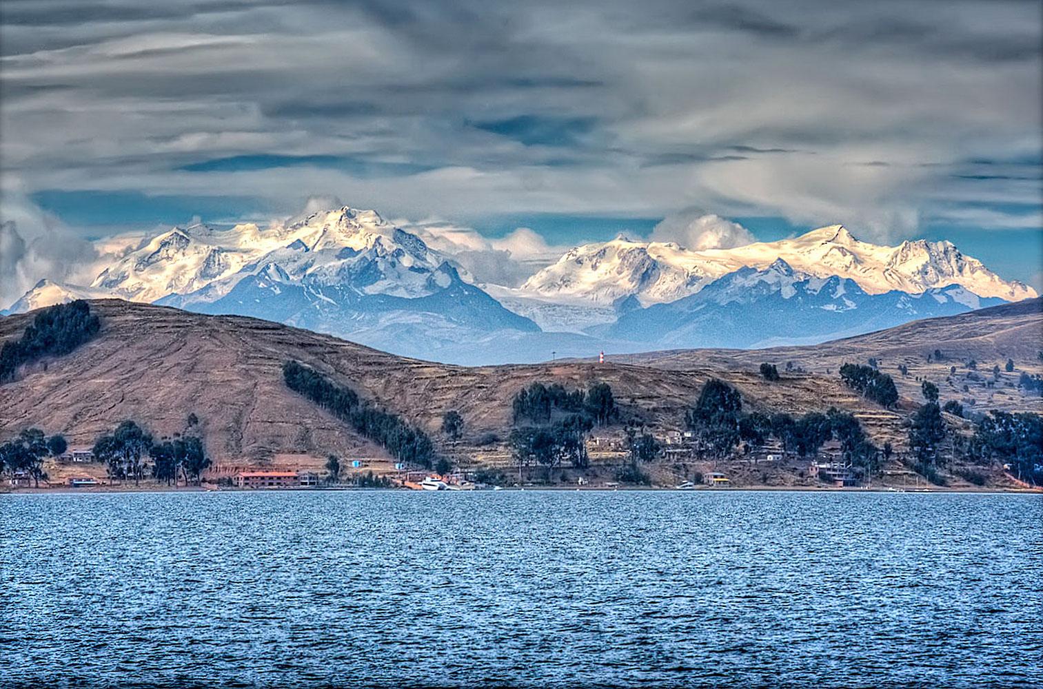 Сдвиг полюсов. Озеро Титикака