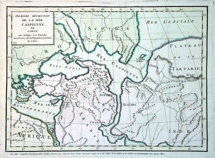 Карта 1796г. из Шведского музея.