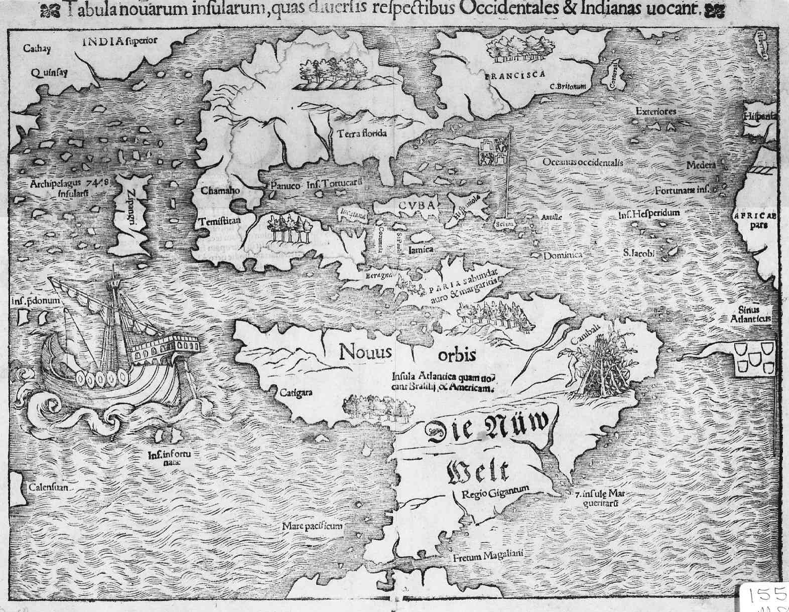Сдвиг полюсов. Старинные карты. карта Нового Света