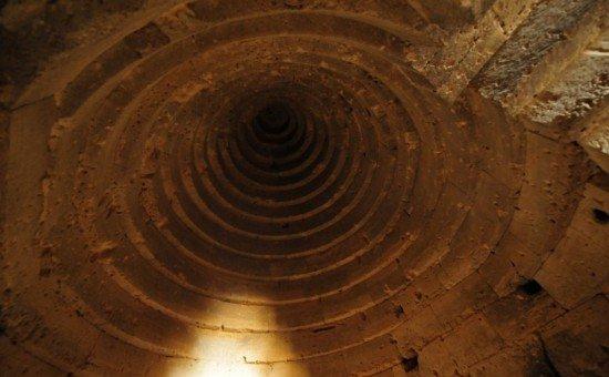 Могила Митридата, Царский-курган, круглый свод