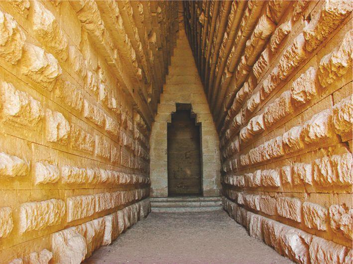 Могила Митридата, Царский-курган, вход