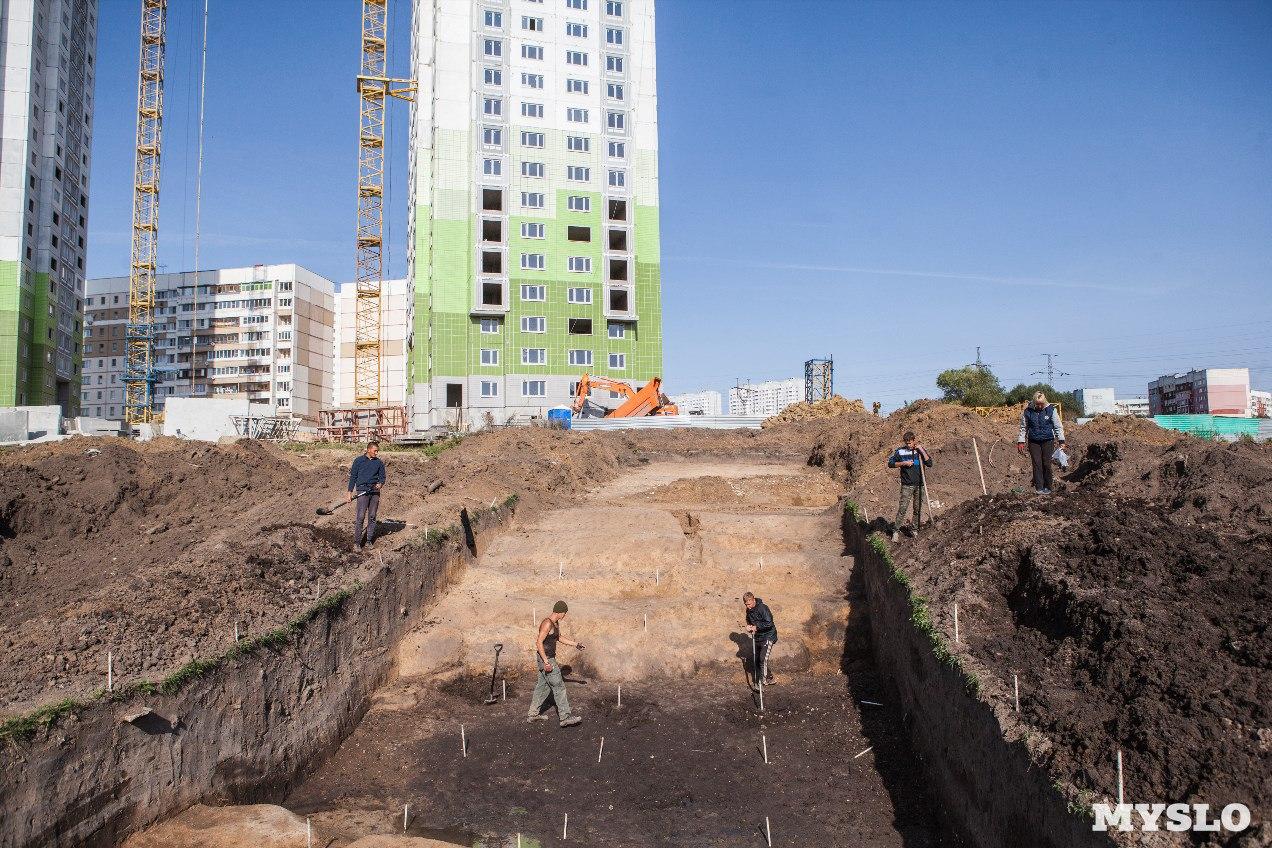 Здания, занесенные грунтом Сибвед