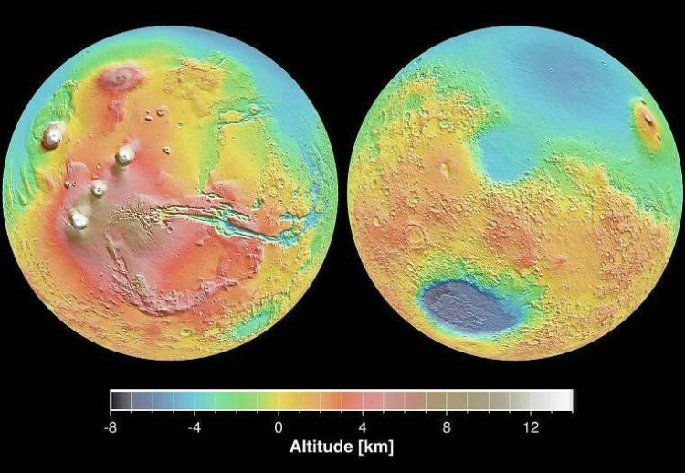 Катастрофическая водородная дегазация недр Марса Игорь Дабахов
