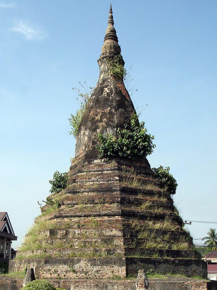 Черная Ступа, Лаос