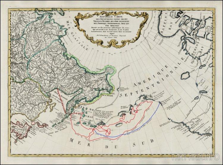 карта 1758